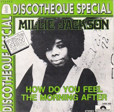 Millie Jackson - How do you feel the morning after + In the wash (Vinylsingle)
