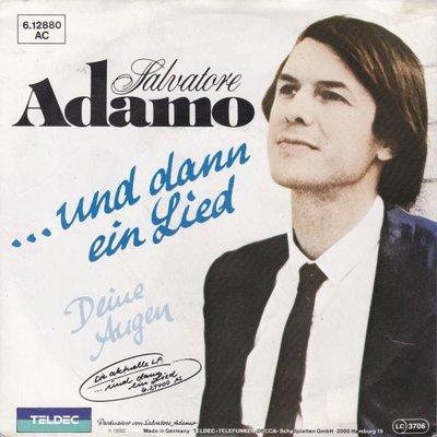 Adamo - Und dann ein lied + Deine augen (Vinylsingle)