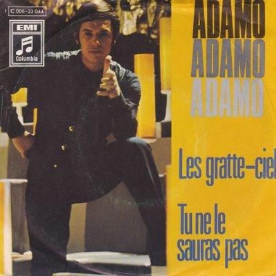 Adamo - Les gratte ciel + Tu ne le sauras pas (Vinylsingle)