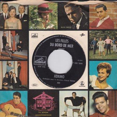 Adamo - Les filles du bord de mer + Le grand jue (Vinylsingle)