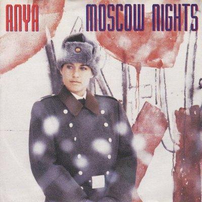 Anya - Moscow nights + How can I? (Vinylsingle)