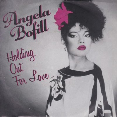 Angela Bofill - Holding out for love + Time to say goodbye (Vinylsingle)