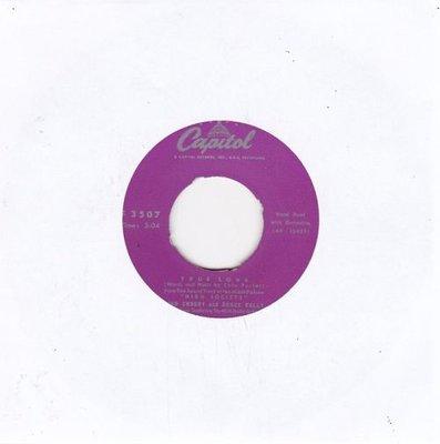 Bing Crosby & Kelly Grace - True love + Well did you Evah? (Vinylsingle)