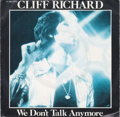 Cliff Richard - We don't talk anymore + Count me out (Vinylsingle)