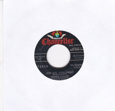 Frankie Avalon - Just ask your heart + Two fools (Vinylsingle)