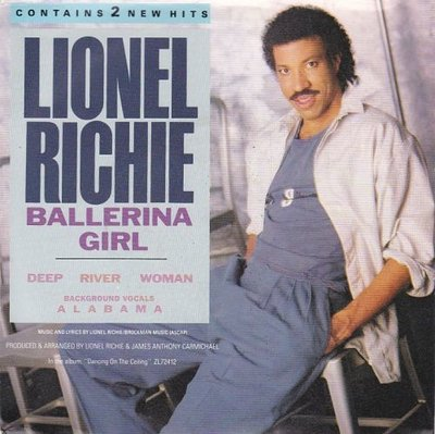 Lionel Richie - Ballerina girl + Deep river woman (Vinylsingle)