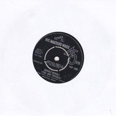 Manfred Mann - Hubble bubble + I'm your kingpin (Vinylsingle)