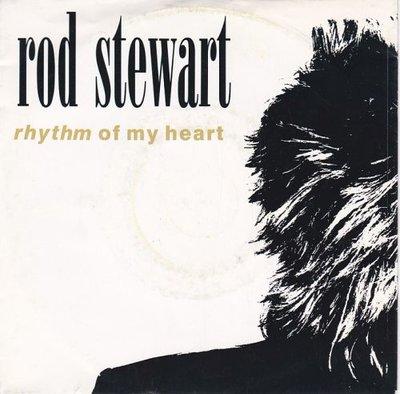 Rod Stewart - Rhythm of my heart + Moment of glory (Vinylsingle)