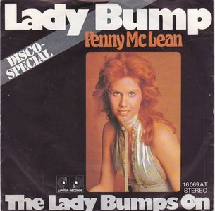 Penny McLean - Lady Bump + The lady bumps on (Vinylsingle)