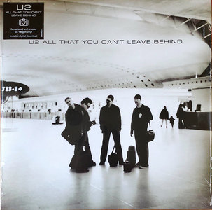 U2 - ALL THAT YOU CAN'T LEAVE BEHIND -HQ- (Vinyl LP)