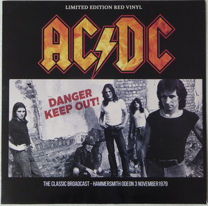 AC/DC - DANDER KEEP OUT! -COLOURED VINYL- (Vinyl LP)