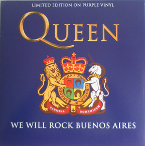 QUEEN - WE WILL ROCK BUENOS AIRES -COLOURED VINYL- (Vinyl LP)