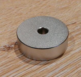 Alluminium Single Puck Round