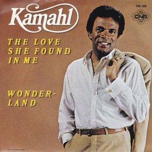 Kamahl - The love she found in me + wonderland (Vinylsingle)