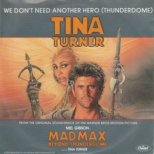 Tina Turner - We don't need another hero + (instr.) (Vinylsingle)