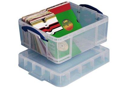 Really Usefull Box 18 liter for 250 Vinylsingles