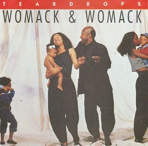 Womack & Womack - Teardrops + Conscious of my conscience (Vinylsingle)