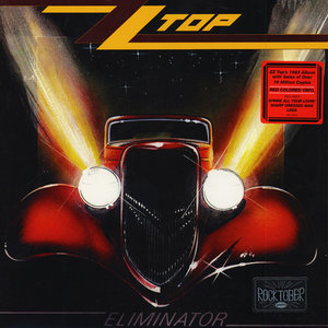 ZZ TOP - ELIMINATOR -COLOURED VINYL- (Vinyl LP)