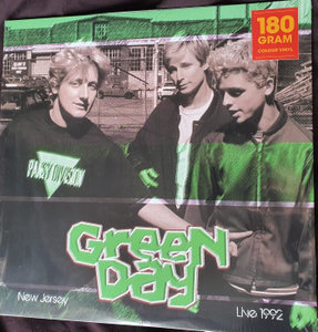 GREEN DAY - LIVE IN NEW JERSEY 1992 -COLOURED- (Vinyl LP)