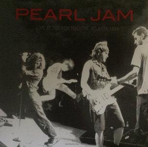 PEARL JAM - LIVE AT THE FOX THEATRE ATLANTA 1994 -COLOURED- (Vinyl LP)