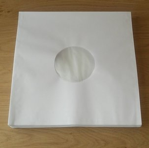 "Innersleeves for 12"" Vinyl (with antistatic inner foil) - pack 50 pieces"