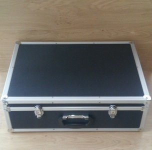 CD Flightcase with removable lid (144 CD)