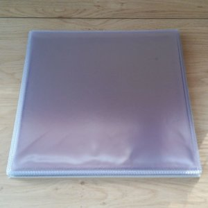 "Plastic PVC outersleeves for 12"" Vinyl  - pack 50 pieces"