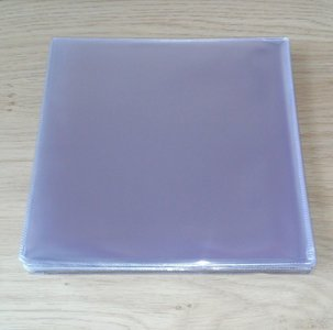 """Plastic PVC outersleeves for 7"""" Vinylsingles - pack 50 pieces"""