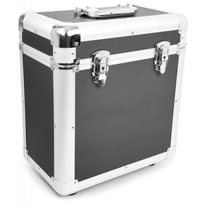 LP Flightcase for 80 records (Black)