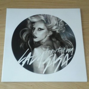 LP Picture Disc Cover (White) - 10 pieces