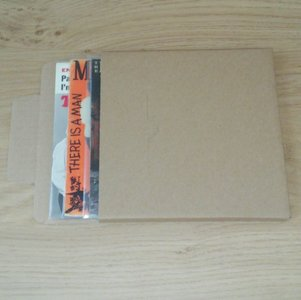 """Mailers for 7"""" Vinylsingles  (1-3 records) - 25 pieces"""