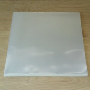 "Bright Plastic Outersleeves for 12"" Vinyl LP's (100my) - 50 pieces"