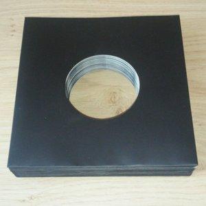 "Black Cardboard Sleeves for 7"" Vinylsingles - 20 pieces"
