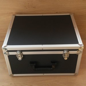 Vinylsingle Flightcase (2 rows)