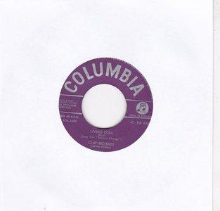 Cliff Richard - Living doll + Apron strings (Vinylsingle)
