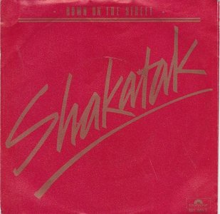 Shakatak - Down on the street + Holding on (Vinylsingle)