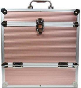LP Flightcase Rose voor 40 platen (zilver) - per stuk