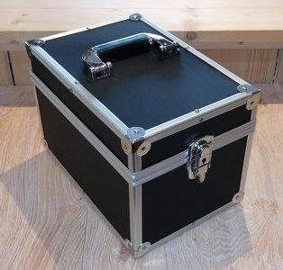 Vinylsingle Flightcase Black